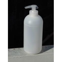 Tekuté olivo-kokosové mýdlo 0,5 l - základní báze z ekologického zemědělství bez konzervantů