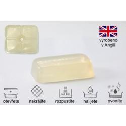 Mýdlová hmota transparentní Crystal OV s olivovým olejem 1 kg