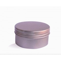 Hliníková dóza 81x38 mm, 180 ml s víčkem a vložkou
