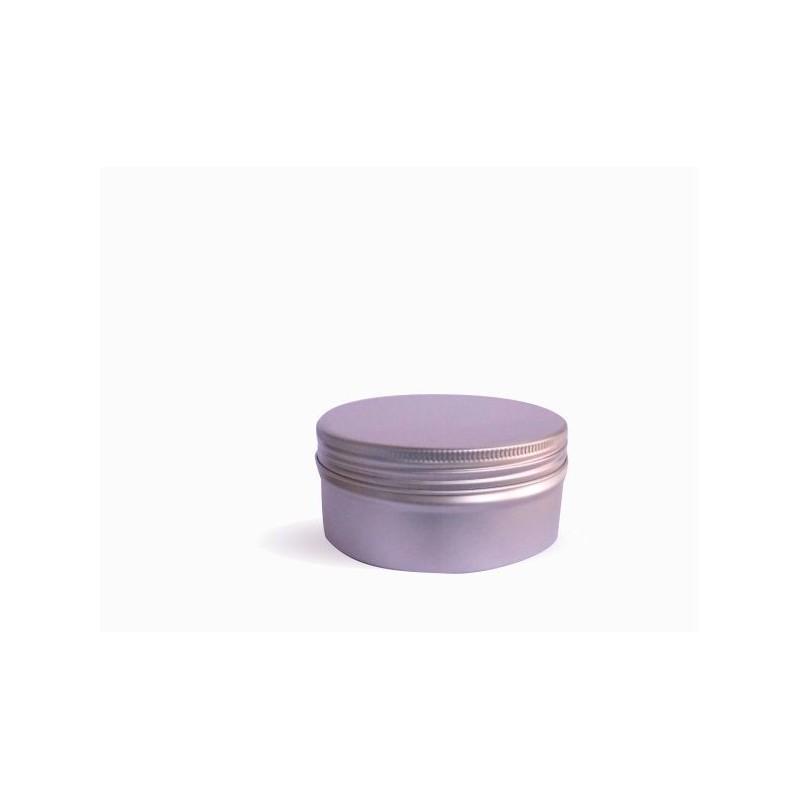 Hliníková dóza 67x33 mm, 120 ml s víčkem a vložkou