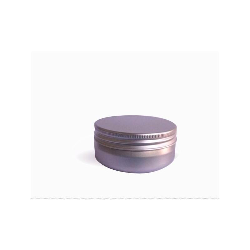Hliníková dóza 70x30 mm, 75-100 ml s víčkem a vložkou