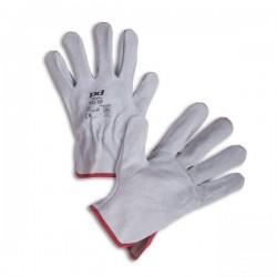 Pracovní rukavice kožené, vel. 10