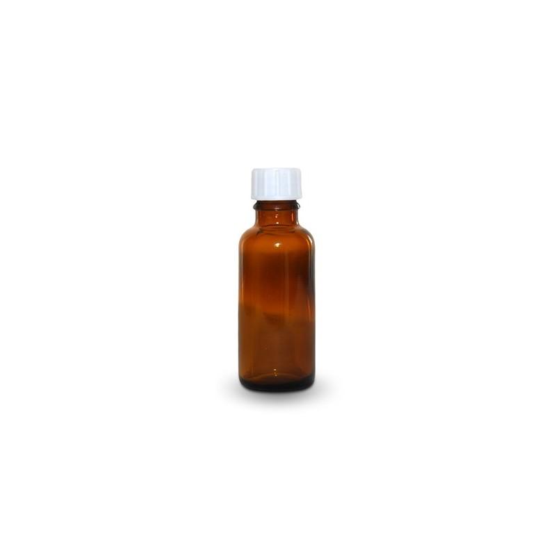 Skleněná lahvička s kapací vložkou, 30 ml