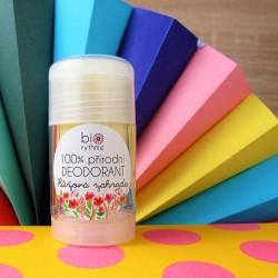 100% přírodní deodorant - růžová zahrada, 30 g