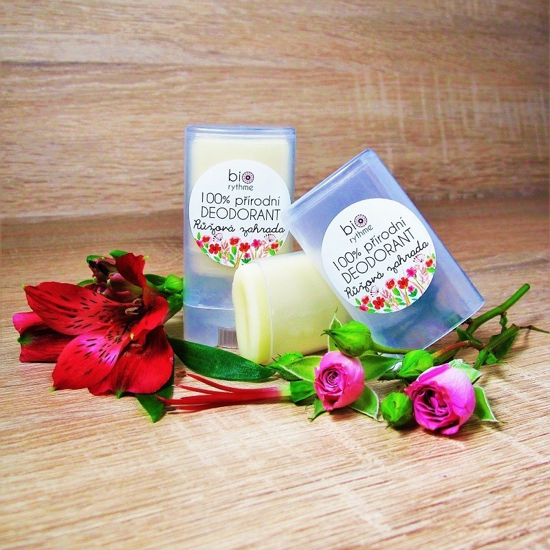 Biorythme deodorant - růžová zahrada, 15 g
