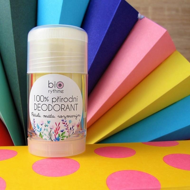100% přírodní deodorant - pačuli, máta, rozmarýn 30 g