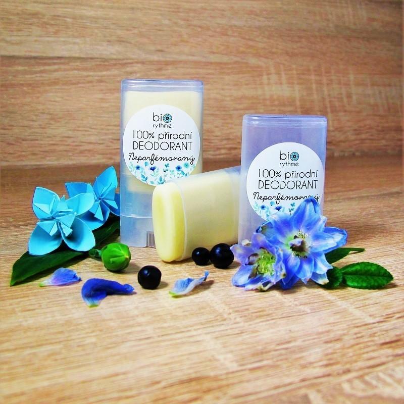 100% přírodní deodorant - neparfémovaný, 15 g