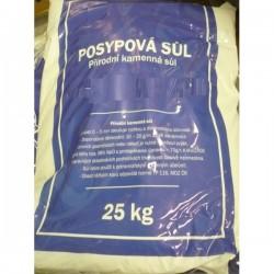 Posypová sůl, 25 kg