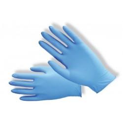 Rukavice nitrilové modré nepudrované, vel. M