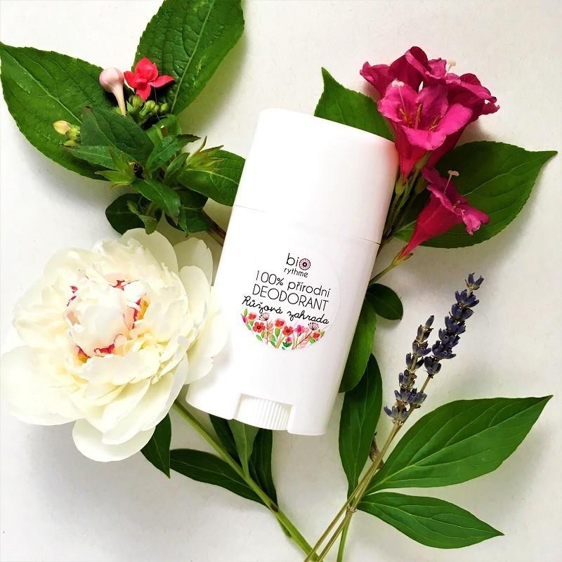 Biorythme deodorant - růžová zahrada XXL, 60 g