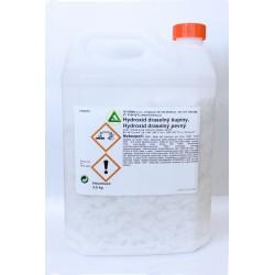 Hydroxid draselný 90%, šupiny 3,5 kg
