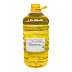 Bodlákový olej rafinovaný 5 l (saflorový, světlicový)