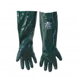 Rukavice DG Universal, zelené, zdrsněné, vel. 10