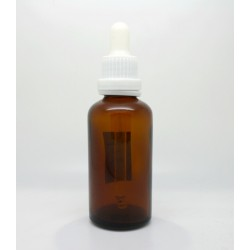 Skleněná lahvička s kapátkem, 50 ml