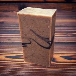 Citrusovo-kávové čistící mýdlo