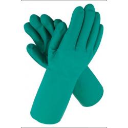 Nitrilové rukavice zelené, 0,4 mm