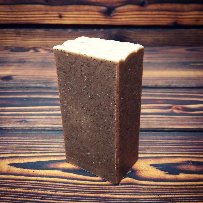 Extra hrubé kávové mýdlo s kajeputem