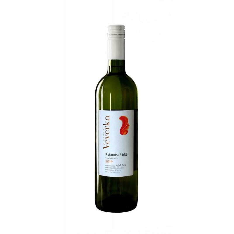Rulandské bílé 2019   Vinařství Veverka