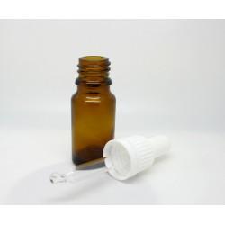 Skleněná lahvička s kapátkem, 10 ml