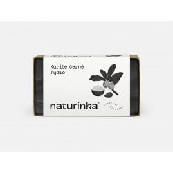 Karité mýdlo s aktivním uhlím Naturinka 110 g