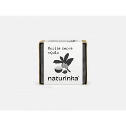 Karité mýdlo s aktivním uhlím Naturinka 45 g